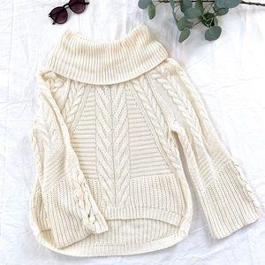 Hi low cozy sweater